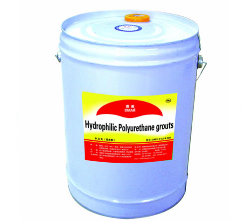 Hydrophilic Polyurethane Grouts